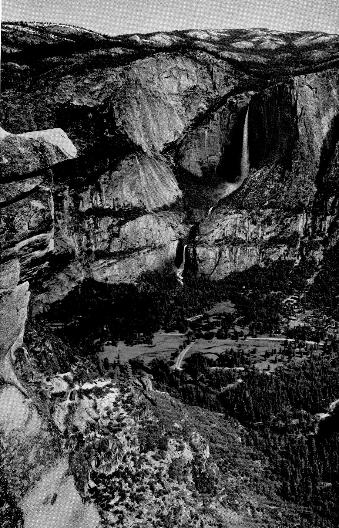 The Four Seasons In Yosemite National Park 1938 Summer