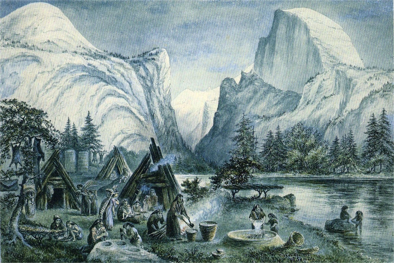 Yosemite Watercolors By Constance Gordon Cumming