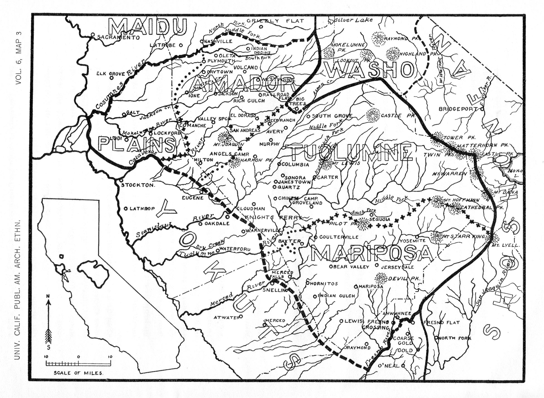 Yosemite Historic Maps Yosemite Library Online - Us map 1908