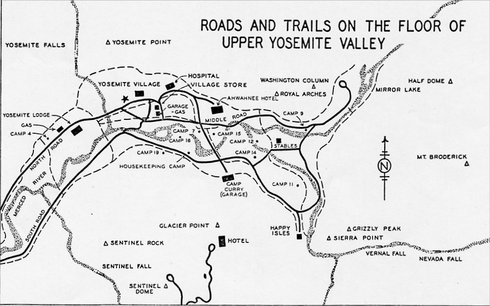 Yosemite Historic Maps Yosemite Library Online