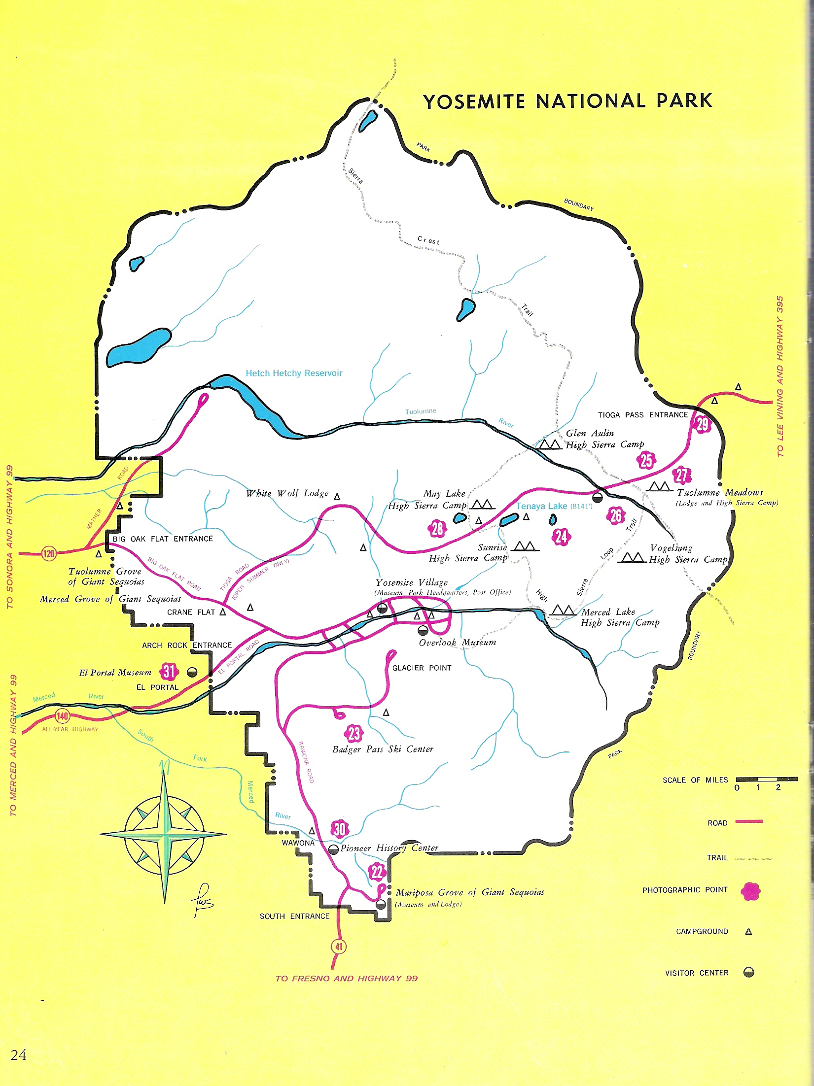 Yosemite Historic Maps (Yosemite Liry Online) on yellowstone route map, camino de santiago route map, denali route map, pacific crest trail route map, grand canyon route map, london tube route map, smith rock route map, mt whitney route map, tour du mont blanc route map,