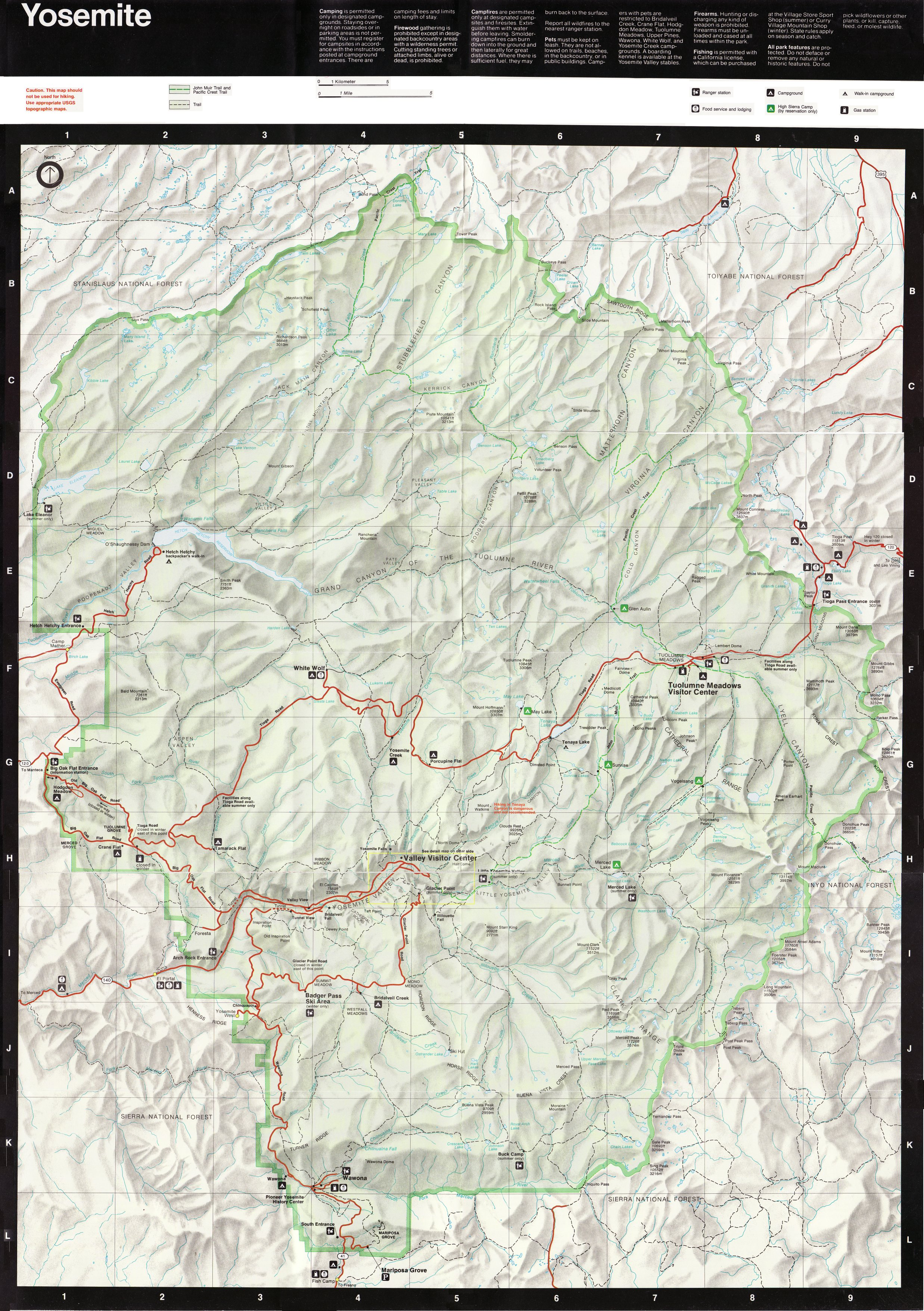 Yosemite National Park Yosemite Historic