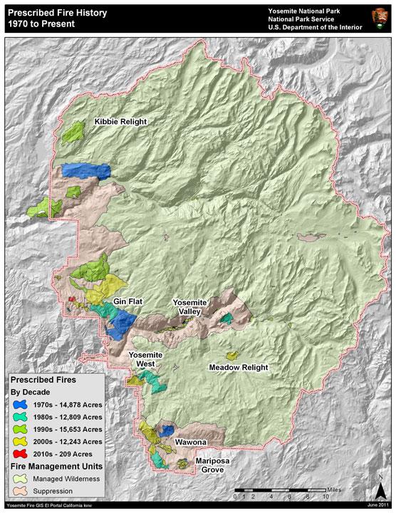 Fire Map Yosemite.Yosemite Historic Maps Yosemite Library Online