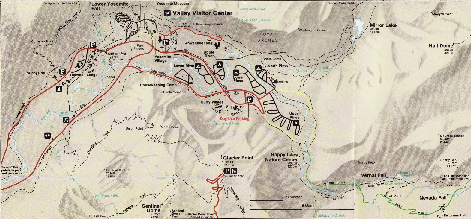 Yosemite Historic Maps (Yosemite Liry Online) on map of orlando attractions, map of usa attractions, map of yellowstone attractions, map of venice attractions, map of hollywood attractions, map of disneyland attractions,