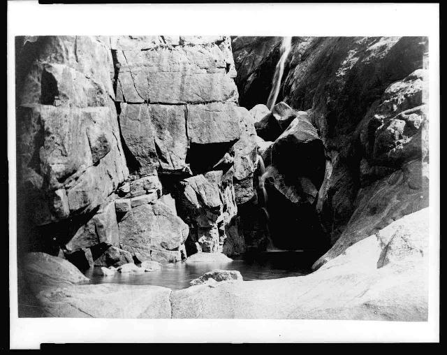 Yosemite history carleton e watkins for Small pond base