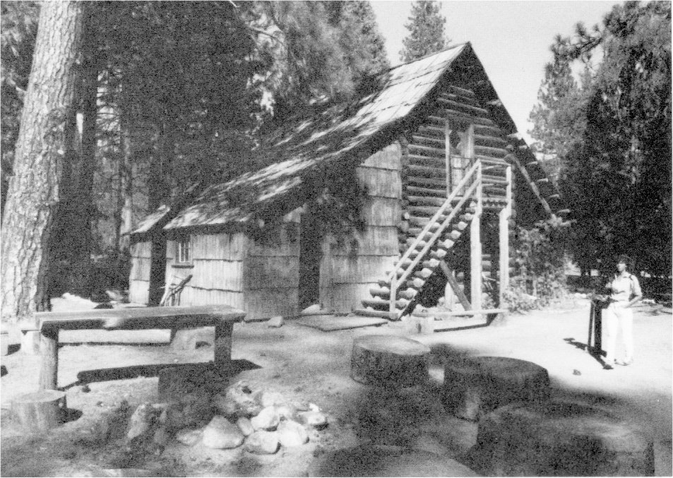 Yosemite the park and its resources 1987 chapter ii for Cabins in yosemite valley