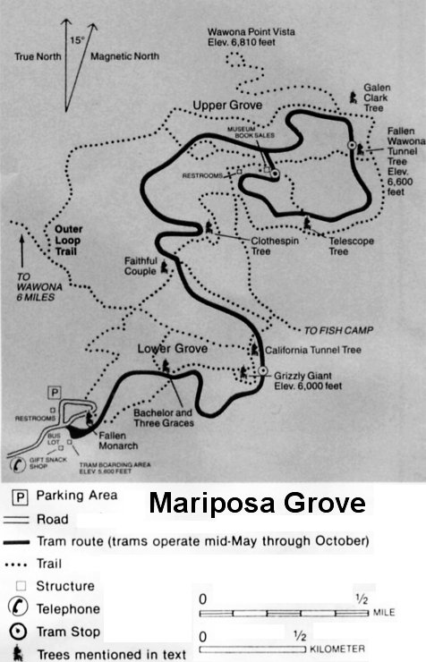yosemite national park map. Yosemite National Park